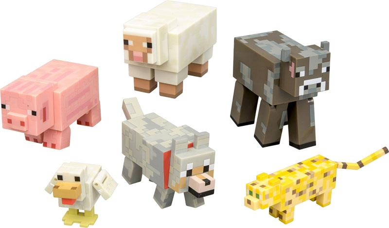 Amazon.com: Minecraft Animal Toy (6-Pack): Toys & Games
