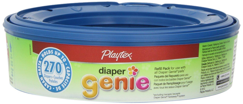 Amazon.com : Playtex Genie Elite Pail System Diaper with