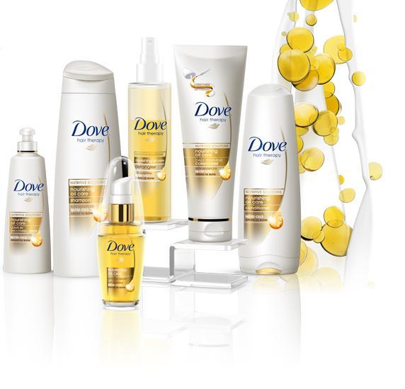 Amazon.com: Dove Nourishing Oil Care Hair Therapy, 6.1