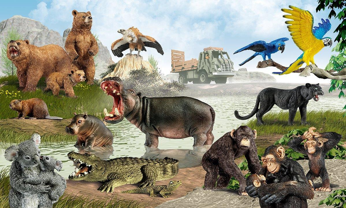Amazon.com: Schleich Jaguar: Toys & Games