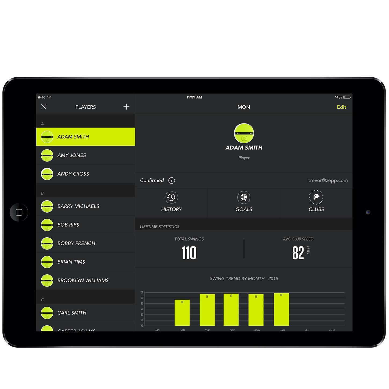 Amazon.com : Zepp Golf 2 3D Swing Analyzer : Sports & Outdoors