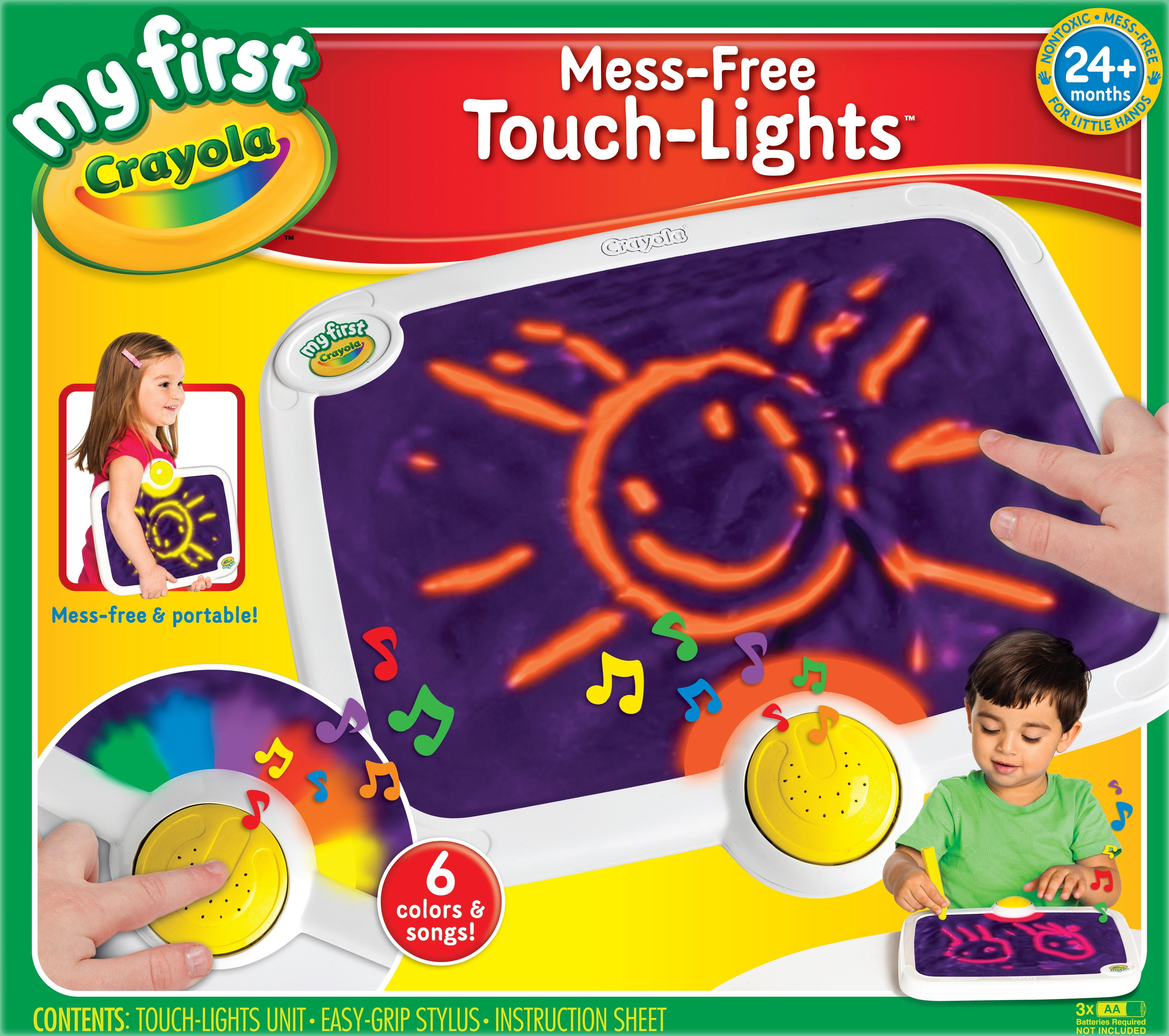 Amazon.com: Crayola My First Touch Lights: Toys & Games