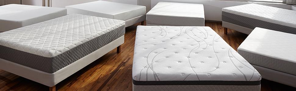 Sleep Innovations 12 Inch Suretemp Memory Foam Mattress