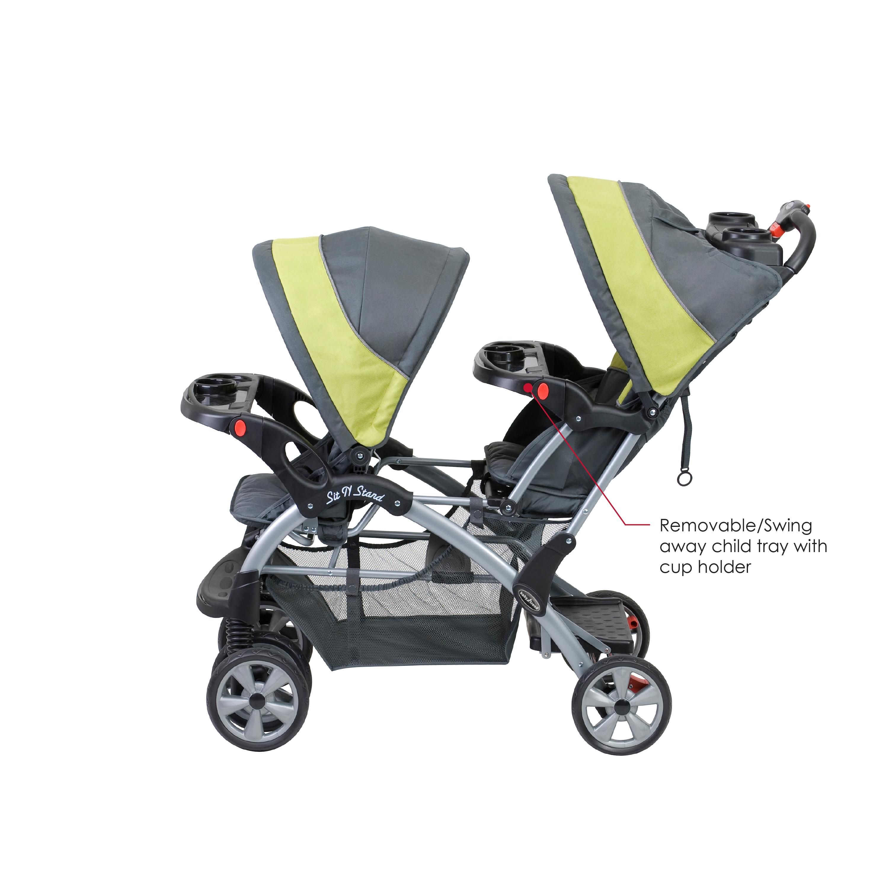 Baby Trend Sit N Stand Double, Carbon Review - Baby About