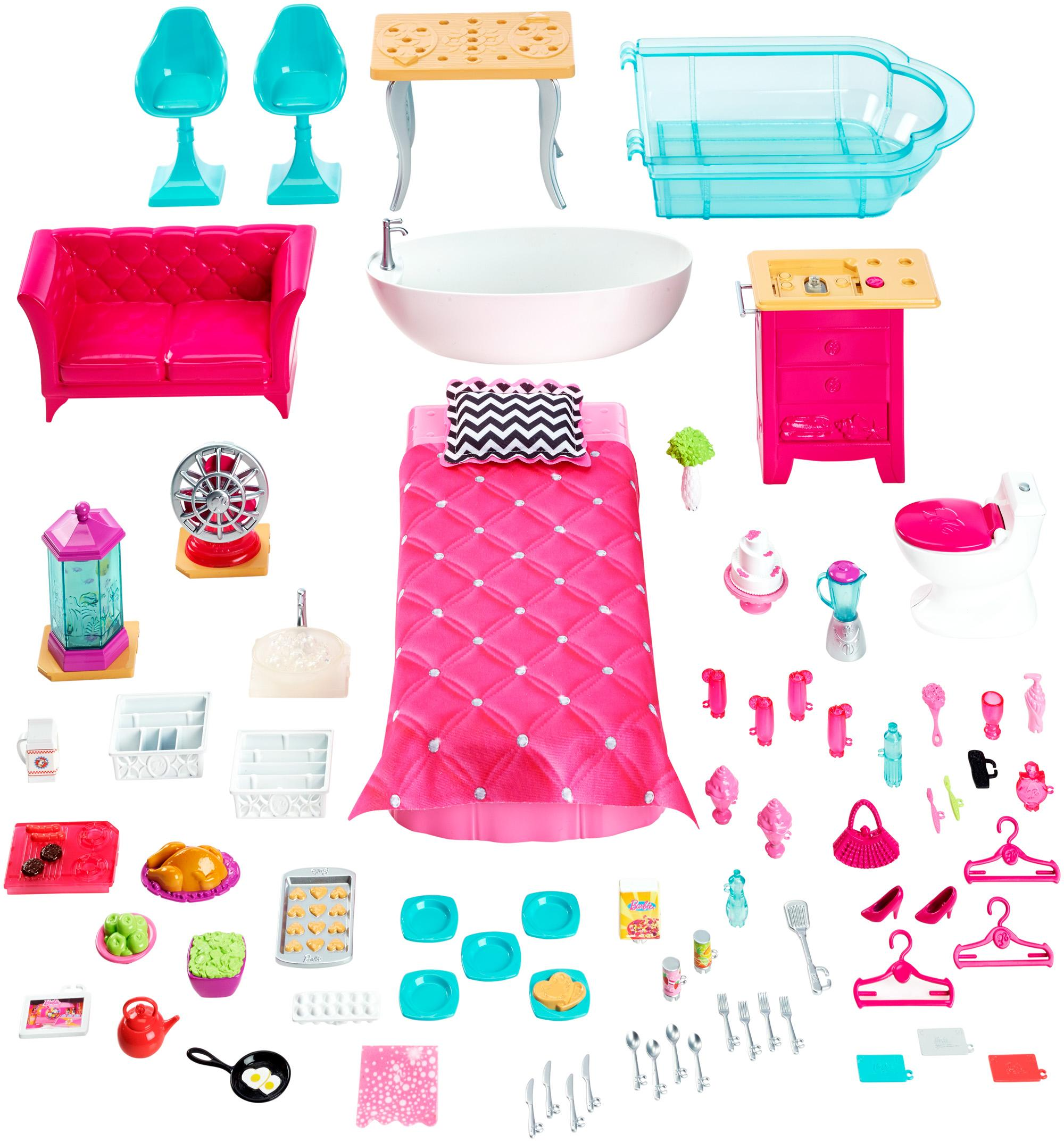 barbie house games dreamhouse toys amp 10079