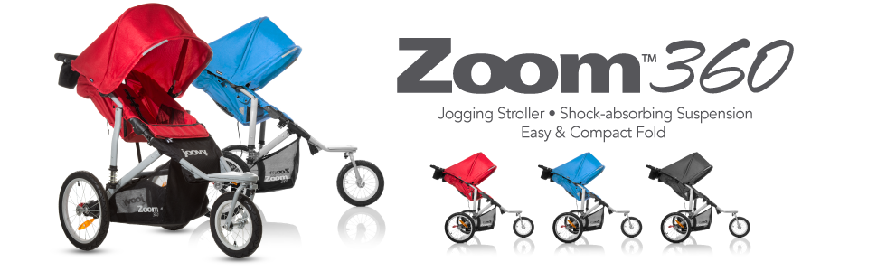 Joovy Zoom 360 Swivel Wheel Jogging Stroller