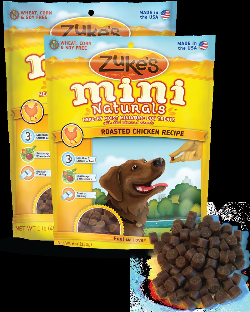 Amazon.com : Zuke's Mini Naturals Dog Treats, Roasted