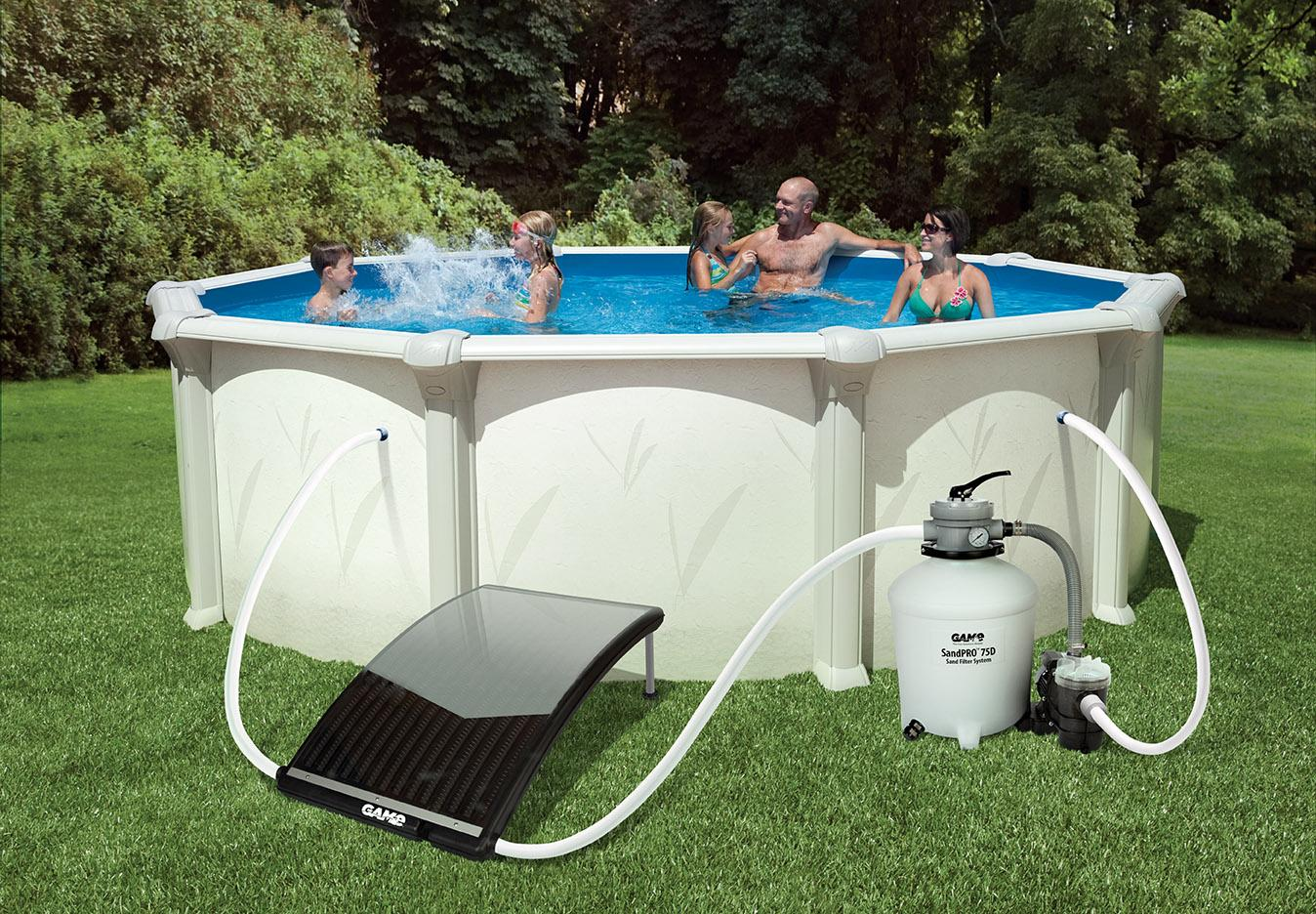 Solarpro Curve Solar Pool Water Heater For Above Inground