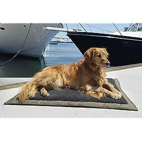 Amazon.com : Ruff and Tuff Self Inflating Travel Dog Bed