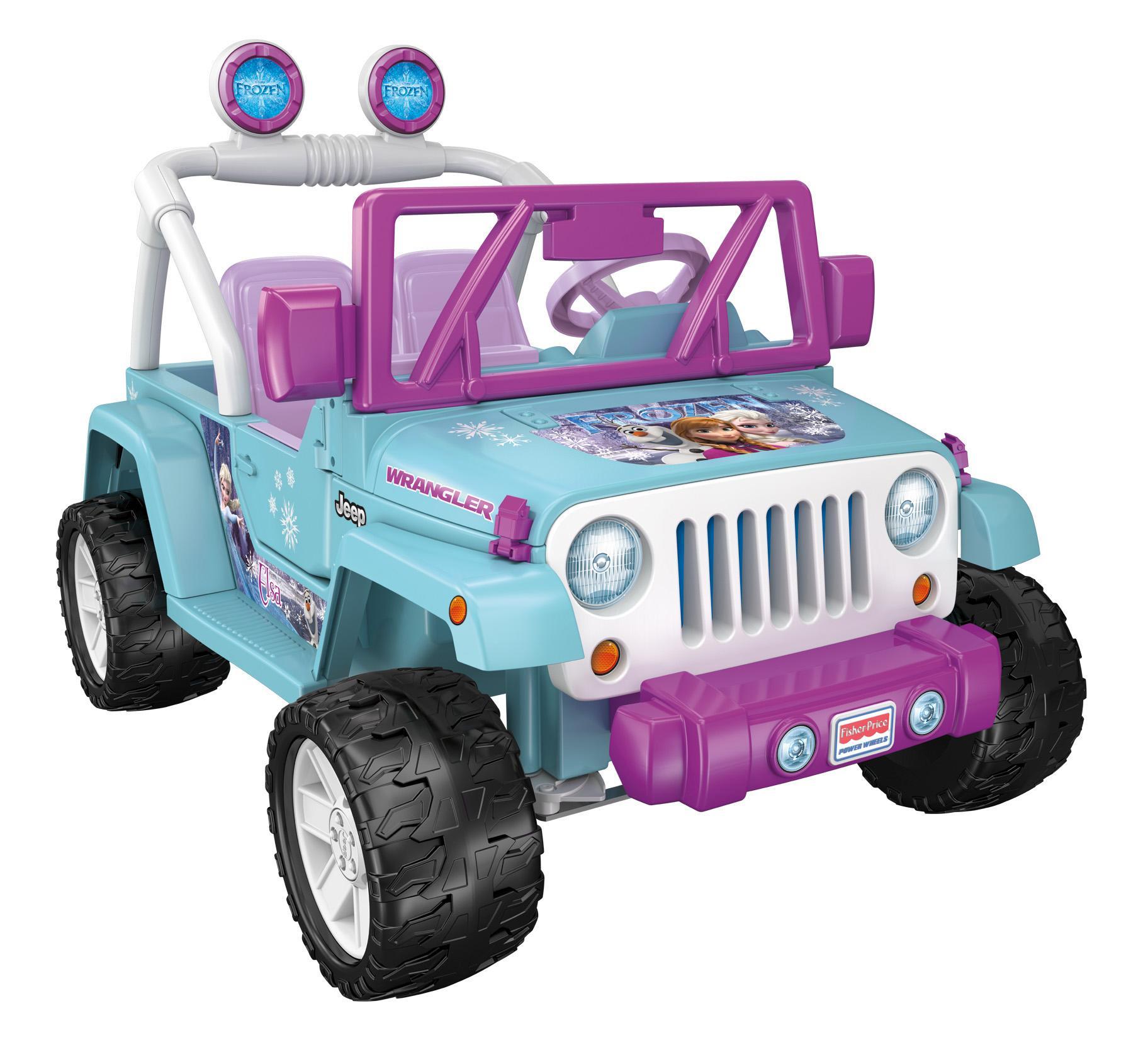 Amazon.com: Power Wheels Disney Frozen Jeep Wrangler, Baby