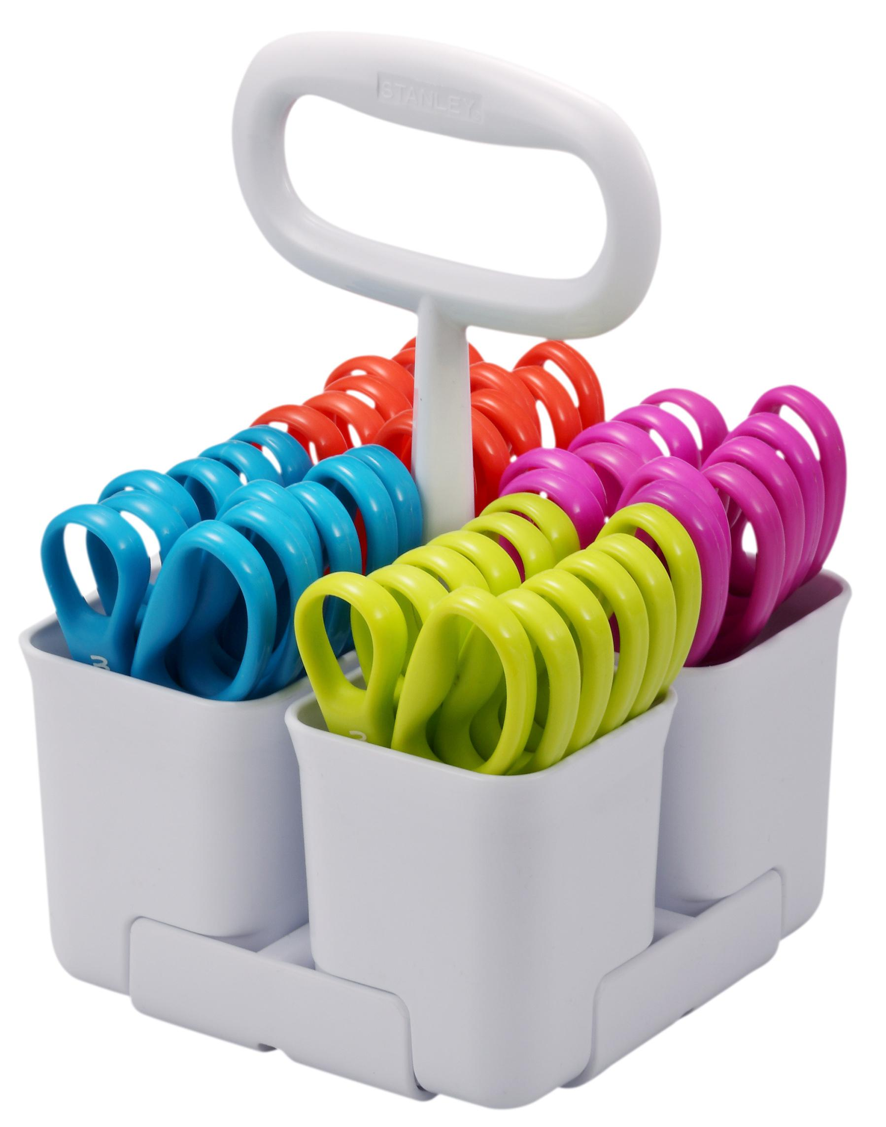 Amazon.com: Stanley Removable 4 Cup Scissor Caddy and