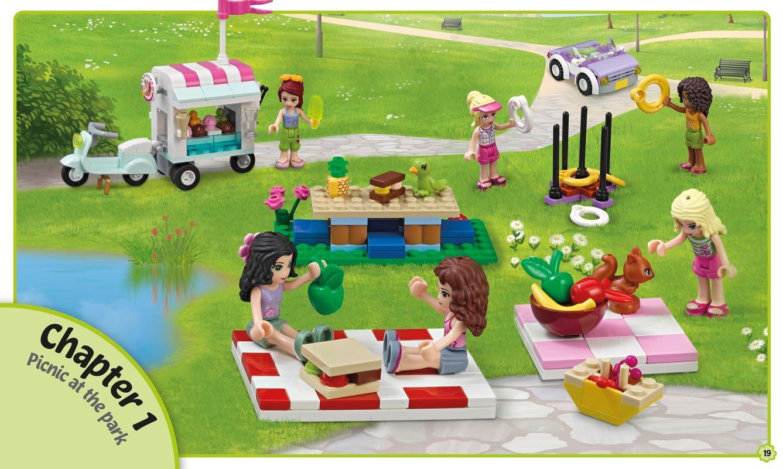 LEGO FRIENDS: Build Your Own Adventure: DK: 9781465435897 ...