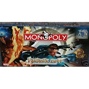 Click to buy Fantastic Four Monopoly from Amazon!