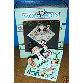 Click to search for Monopoly Enesco Christmas ornaments on eBay!