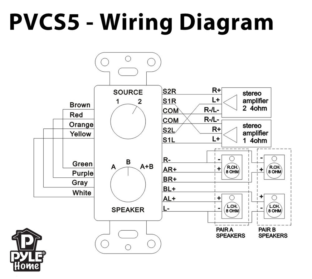 Speaker Impedance Wiring Diagrams 8 Ohm To 4 Diagram Matching Get Free Image Energy Center