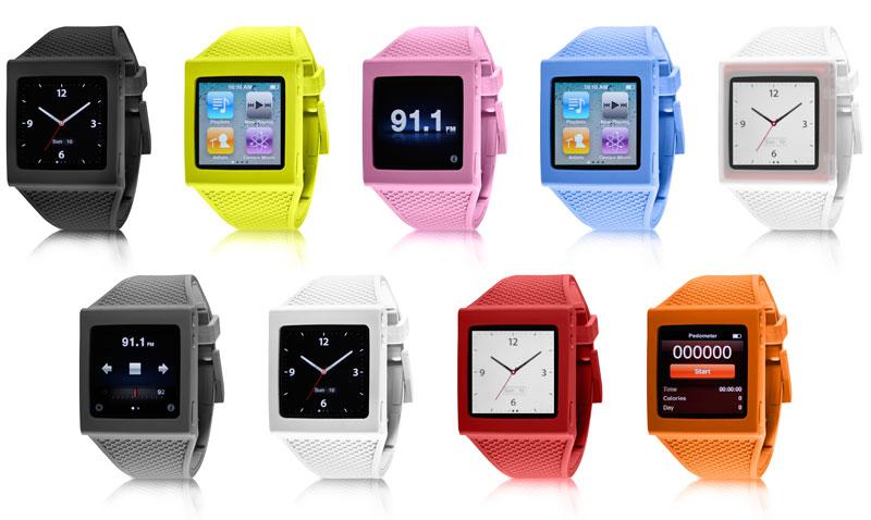 Amazon.com: HEX HX1001-BLCK Watch Band for iPod Nano 6G