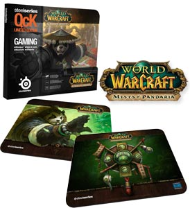 SteelSeries QcK World of Warcraft: Mists of Pandaria Mouse Pads