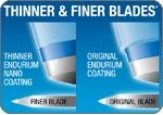 Remington King of Shaves Azor 5-Blade Men's Manual Razor Refills (6 Cartridges) feature