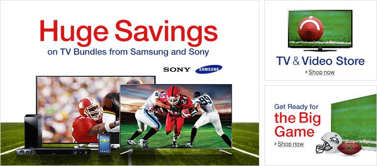 Amazon Featuring Big TV Deals.