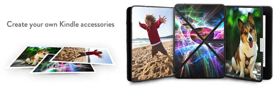 New: Design Your Own Kindle / Fire Cases & Skins!