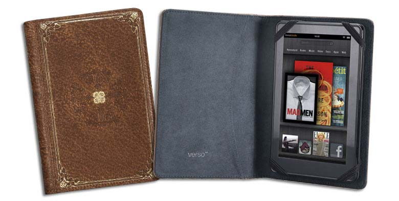 Gorgeous, Premium Kindle Fire Covers That Put The Book Back In E-Book