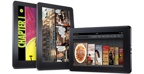 Survey Finds Main Use of Kindle Fire is for Reading