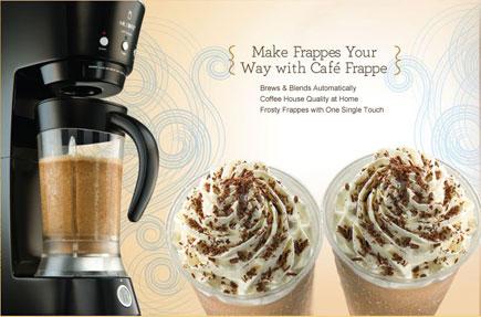 Mr. Coffee Frappe Maker benefits