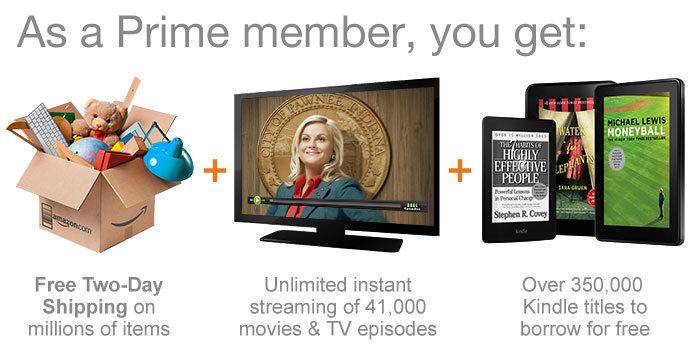 FREE 30 day Amazon Prime membe...