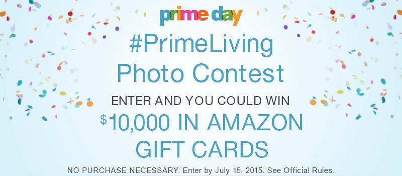 Amazon Prime Day News: Win a T...