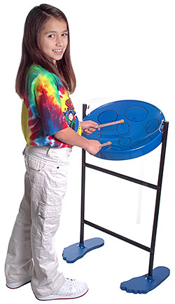 Amazon.com: Jumbie Jam Steel Drum Musical Instrument, Blue