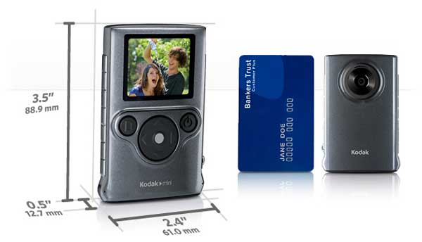 Review Kodak Mini Video Camera