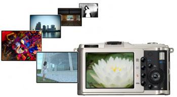 Olympus PEN E-P1 digital camera highlights
