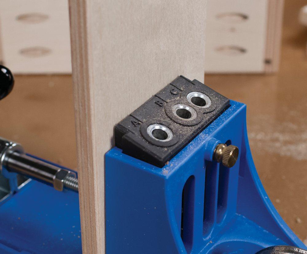 Kreg KJMICRODGB Jig Micro Drill Guide System - Power Drill