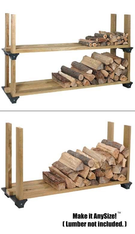 garage shelf ideas 2x4 - Amazon Hopkins 2x4basics Firewood Rack System