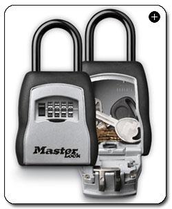 master lock 5400d portable key safe realtor realty key. Black Bedroom Furniture Sets. Home Design Ideas