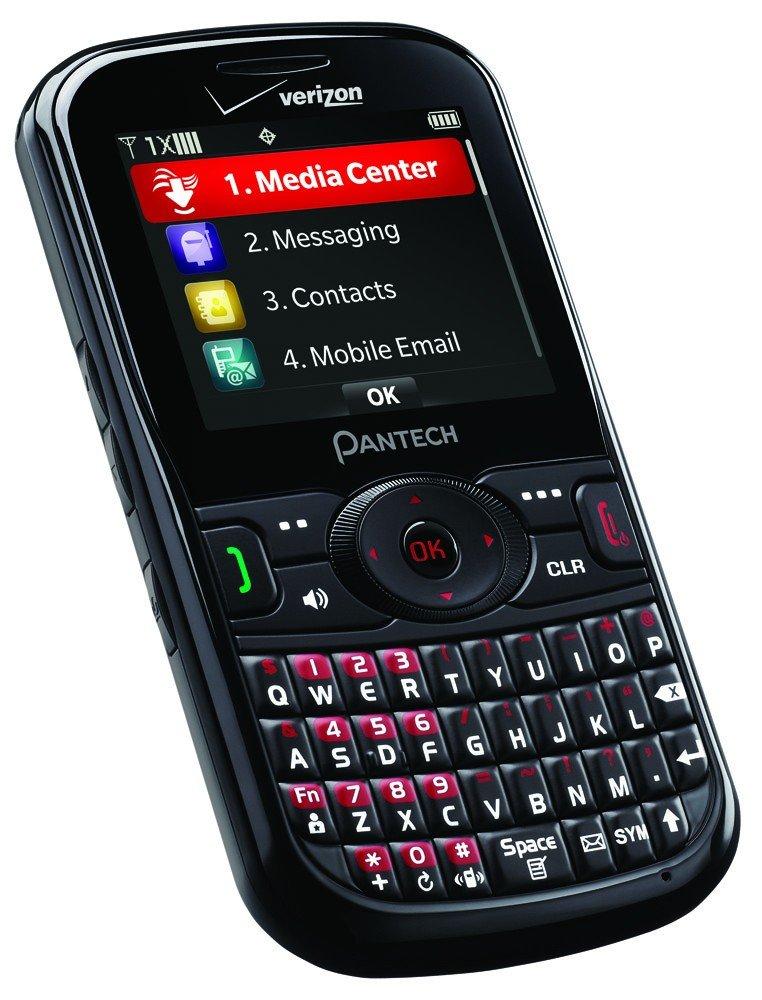 pantech caper 8035 verizon cell smart phone black blue qwerty rh ebay com Verizon Pantech Zoom Verizon Pantech Jest 2