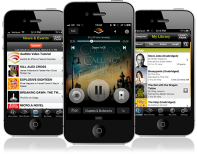 how to find audiobooks on iphone audible app for ios product review 1 18802