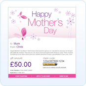 Amazon Mother's Day Gift Voucher