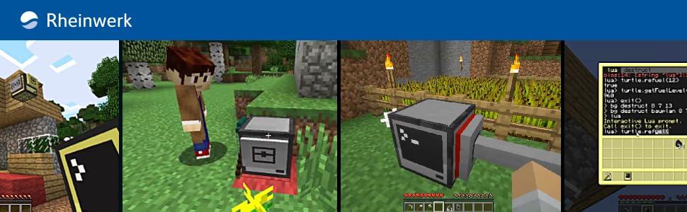 Let's code Minecraft! - So lernst Du spielend