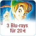 3 Disney-Blu-rays für 20 EUR