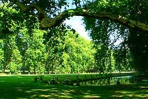 Europäische Gärten