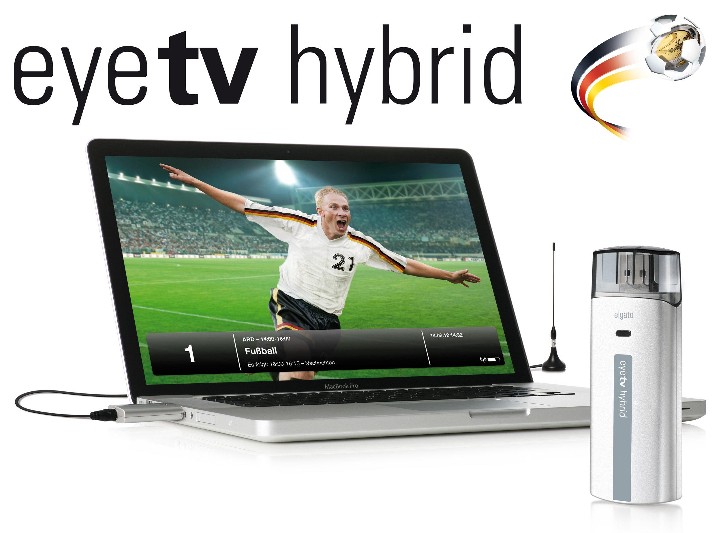 Elgato EyeTV Hybrid Fußball-Edition TV Tuner-Stick für