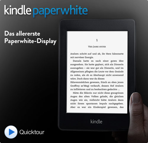 Kindle Paperwhite (5. Generation), 15 cm (6 Zoll