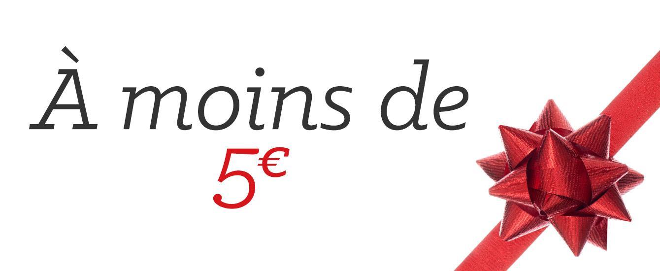 Cadeau noel moins de 5 euros