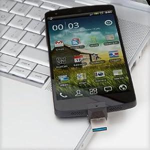 Kingston DTDUO3/64GB - Memoria USB (64 GB, USB 3.0/Micro-USB, 5 V, Flash), negro