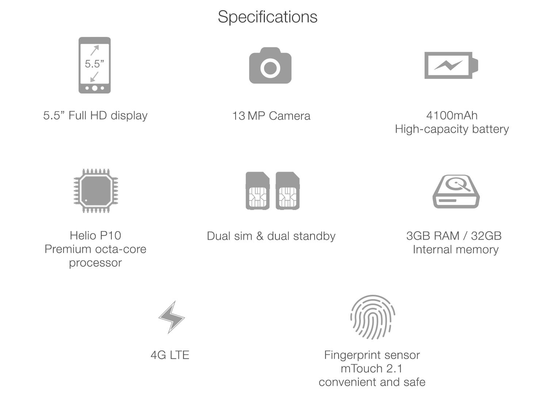 meizu m3 note tech specification