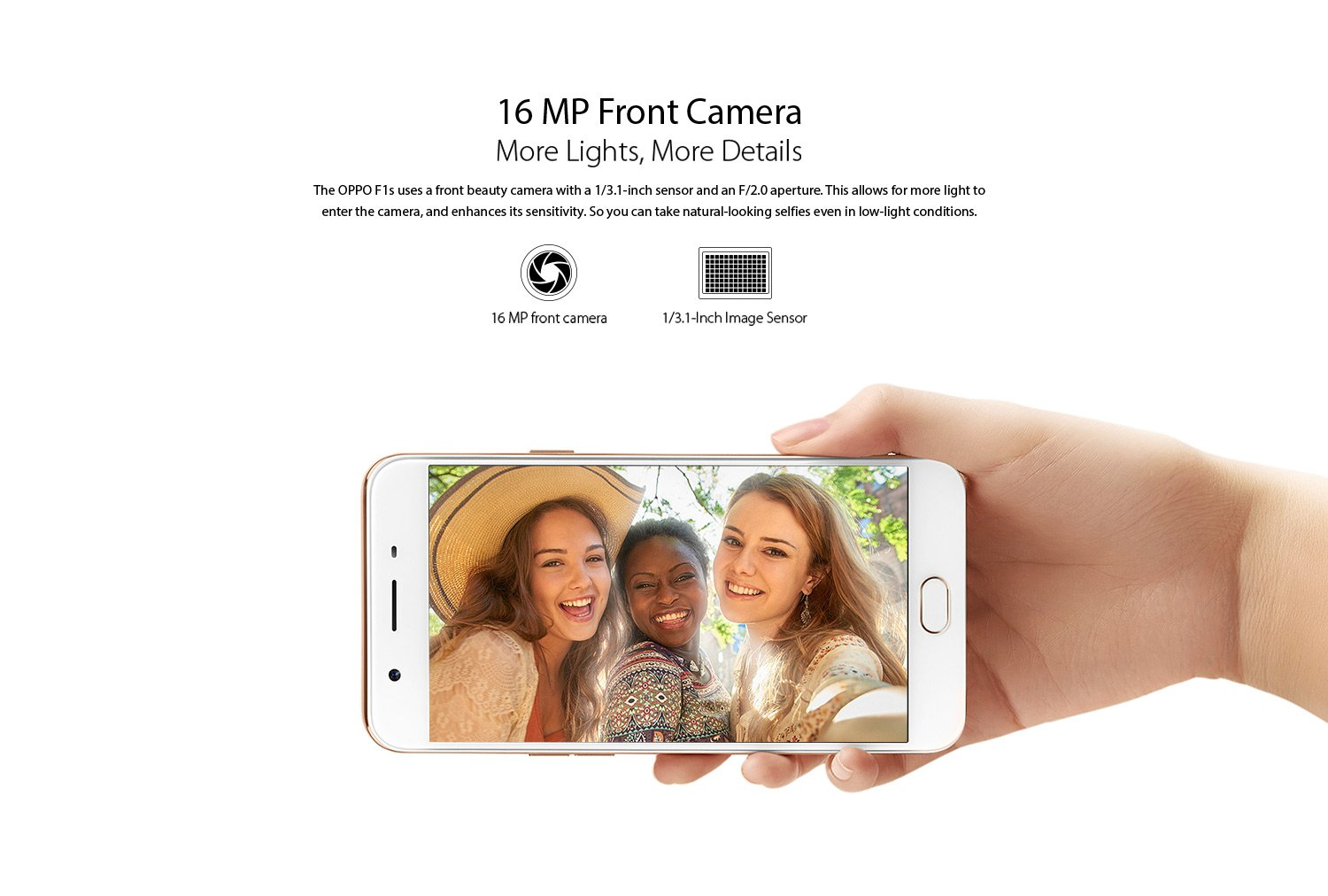 16 MP Front Camera