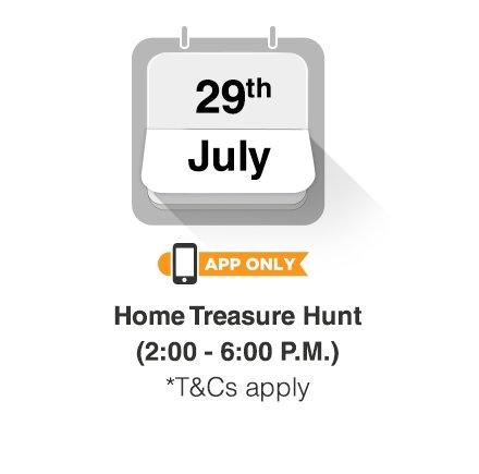 29th July - Treasure Hunt